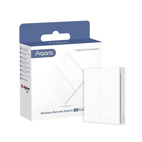 Aqara Schalter, kabellos, H1, benötigt Aqara Hub, Zigbee 3.0,...