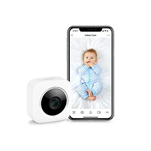 SwitchBot Sicherheits-Innenkamera, Bewegungserkennung für Babyphone...