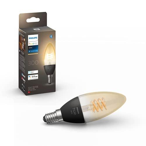 Philips Hue White E14 Kerze Einzelpack Filament 300lm