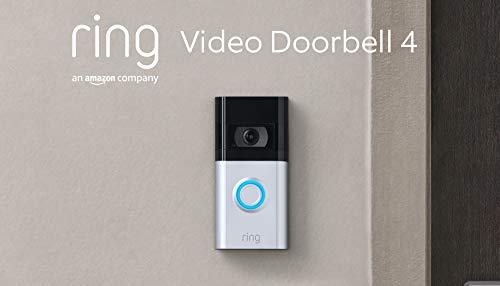 Die neue Ring Video Doorbell 4 von Amazon – HD-Video mit...