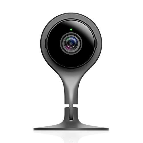 Google Nest Cam Indoor-Kamera, Schwarz. Sicherheit leicht gemacht....