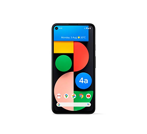 Google Pixel 4a 5G Android Handy - 128GB Just Black, SIM Free,...
