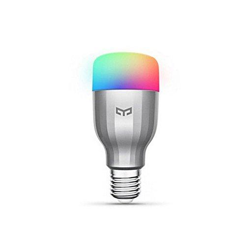 Smart LED Glühbirne, 16 Millionen Farben RGB Einstellbare Weißlicht...