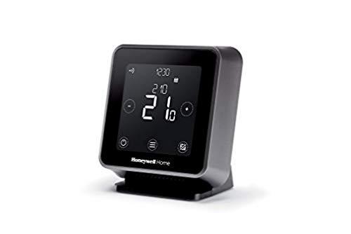 Honeywell Home T6R Wi-Fi Raumthermostat mit Tischhalter, Netzteil und...