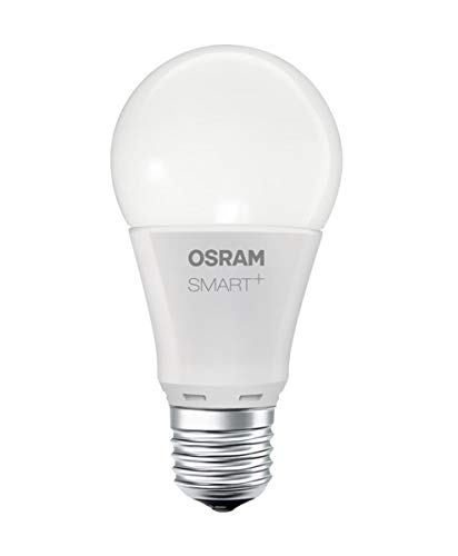 OSRAM Smart+ LED, ZigBee Lampe mit E27 Sockel, warmweiß, dimmbar,...