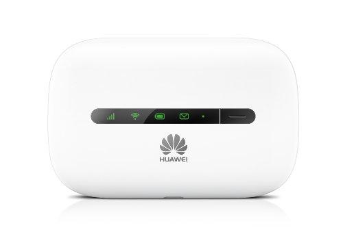 HUAWEI E5330 3Gs Mobile Wi-Fi, bis zu 21,6 MBit/s, Weiß
