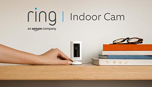 Ring Indoor Cam von Amazon, eine kompakte WLAN...