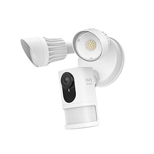 eufy Security Floodlight Cam 2C mit 2000lm Scheinwerfer, K.I, 2K,...