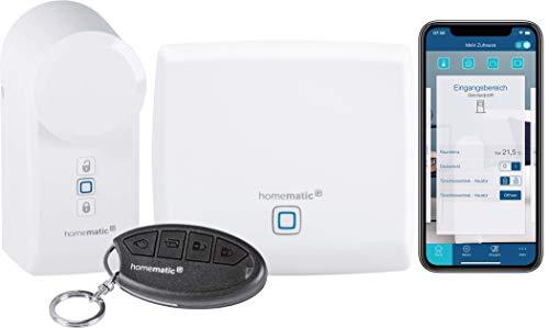 Homematic IP Starter Set Zutritt, Smart Home Türschlossantrieb,...
