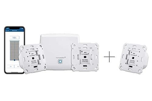 Homematic IP Smart Home Starter Set Beschattung + Rollladenaktor,...