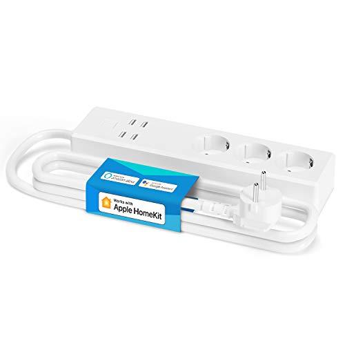 Meross Smart Steckdosenleiste kompatibel mit HomeKit, WLAN...