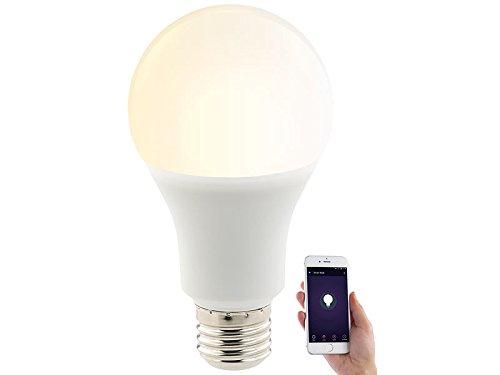 Luminea Home Control WLAN-LED-Lampe, für Alexa, Siri & Google...