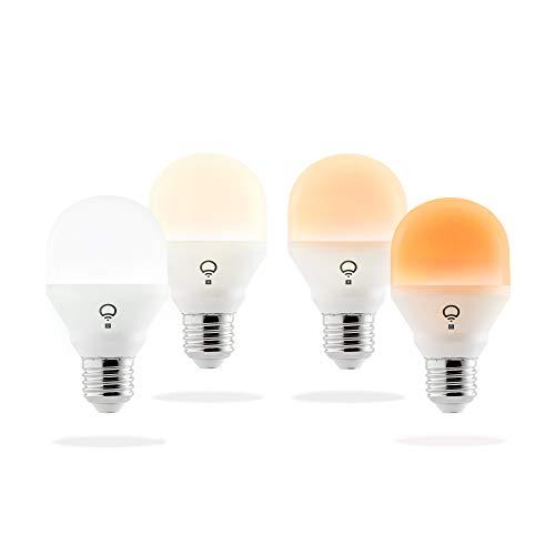 LIFX Mini Day & Dusk Wi-Fi Smart LED Light Bulb E27-4 Pack