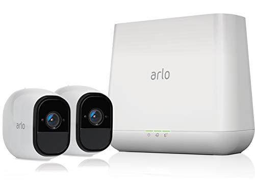 Arlo Pro Überwachungskamera & Alarmanlage, HD, 2er Set, Smart Home,...