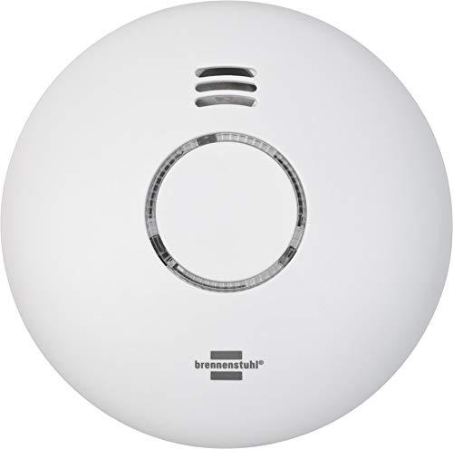 BrennenstuhlConnect WiFi Rauch-und Hitzewarnmelder WRHM01 mit...