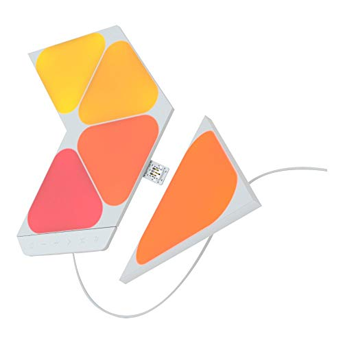 Nanoleaf Shapes Mini Triangles Starter Kit - 5 Mini Panels