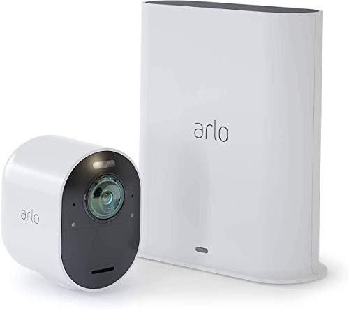 Arlo Ultra WLAN Überwachungskamera & Alarmanlage, Innen / Aussen,...