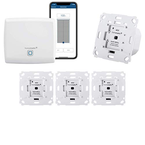 Homematic IP Rolladensteuerung für 4 Rolladen. Smart Home Set inkl....