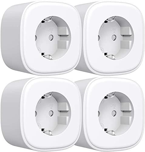 WLAN Steckdose Refoss Smart Plug, Fernbedienbar WiFi Stecker,...