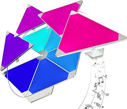 Nanoleaf Light Panels Rhythm Starter Kit - 15x Modulare Smarte LED mit...