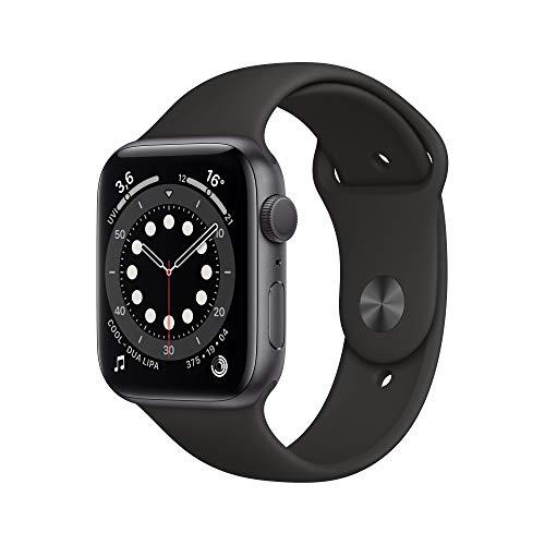 AppleWatch Series6 (GPS, 44mm) Aluminiumgehäuse Space Grau,...
