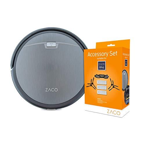 ZACO A4s Saugroboter, automatischer Staubsauger Roboter + ZACO...