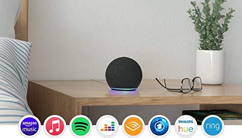 Echo Dot (4. Generation), Anthrazit + Amazon Smart Plug...