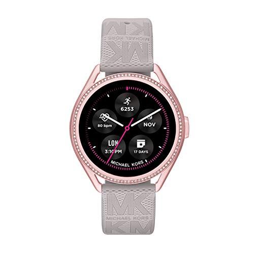 Michael Kors Damen Gen 5E MKGO Touchscreen Smartwatch mit...