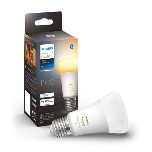 Philips Hue White Ambiance E27 Einzelpack 800lm 75W