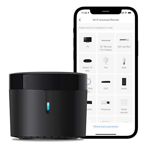 Broadlink - RM4 Mini - Universelle IR-Audio-Video-Fernbedienung, Smart...