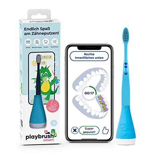 Playbrush Smart, smarte Kinder-Zahnbürste mit Apps zum spielerischen...