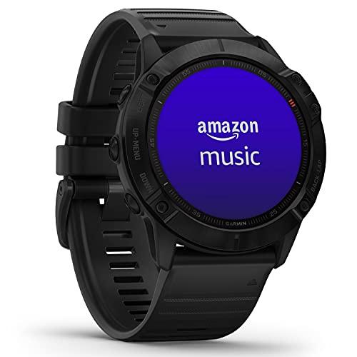 Garmin fenix 6X PRO - GPS-Multisport-Smartwatch mit Sport-Apps, 1,4'...