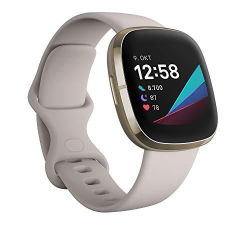 Fitbit Sense - fortschrittliche Gesundheits-Smartwatch mit Tools für...