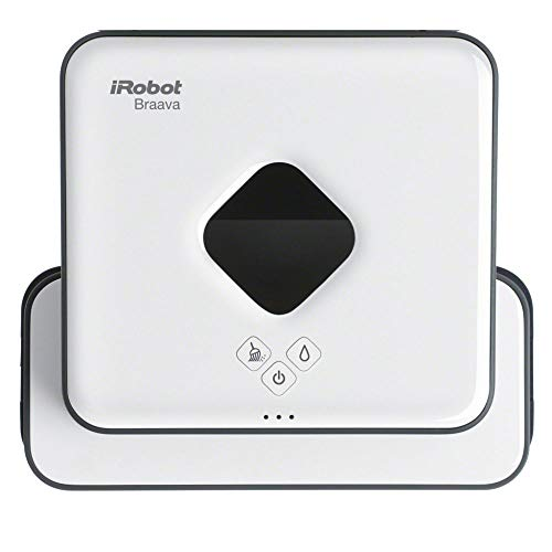 iRobot Braava 390t Wischroboter, intelligente Navigation, 2 in 1:...