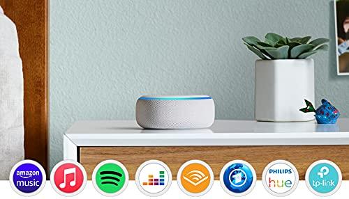 Echo Dot (3. Gen.) Intelligenter Lautsprecher mit Alexa, Sandstein...