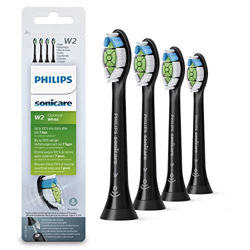 Philips Original Aufsteckbürste Optimal White HX6064/11, Entfernt bis...