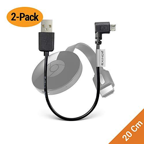EXINOZ Chromecast USB Cable. Designed to Power Your Google Chromecast...