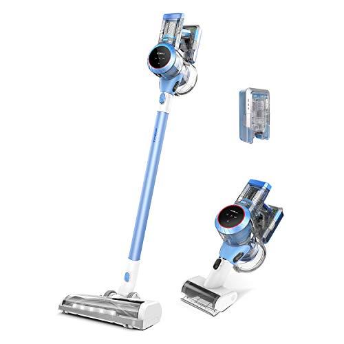 Tineco Smarter Akkustaubsauger S11 Stabstaubsauger Digitales...