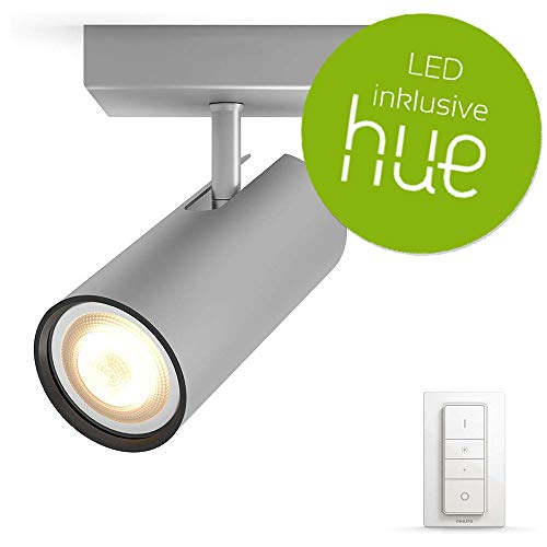 Philips Hue White Ambiance Buratto Modern 1-er Spot, Inkl....