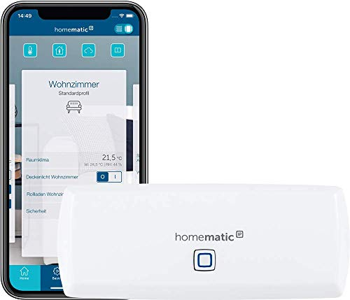 Homematic IP WLAN Access Point - Smart Home Gateway mit kostenloser...