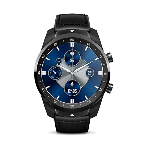 Ticwatch Pro S Smartwatch mit 1 GB RAM Speicher Integriertes GPS IP68...