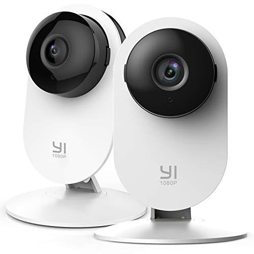 YI Home Camera 1080p 2 Stück,Ip Kamera WiFi Überwachungskamera mit...