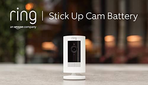 Ring Stick Up Cam Battery von Amazon, HD-Sicherheitskamera mit...