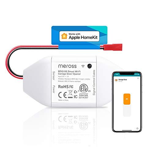 meross Smart Garagentoröffner, Apple HomeKit, Alexa, Google...