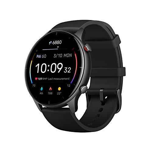 Amazfit Smartwatch GTR 2e GPS 1,39'' AMOLED Aktivitätstracker für...