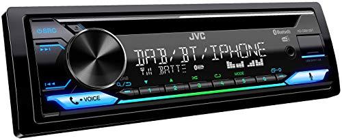 JVC KD-DB912BT CD-Autoradio mit DAB+ & Bluetooth Freisprecheinrichtung...