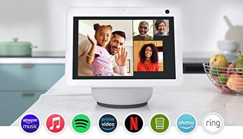 Der neue Echo Show 10 (3. Generation) | Hochauflösendes Smart Display...