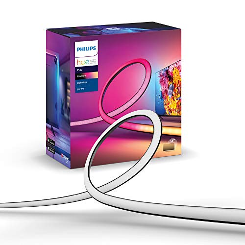 Philips Hue Play Gradient 55 Zoll Lightstrip 16 Mio. Farben, multi,...