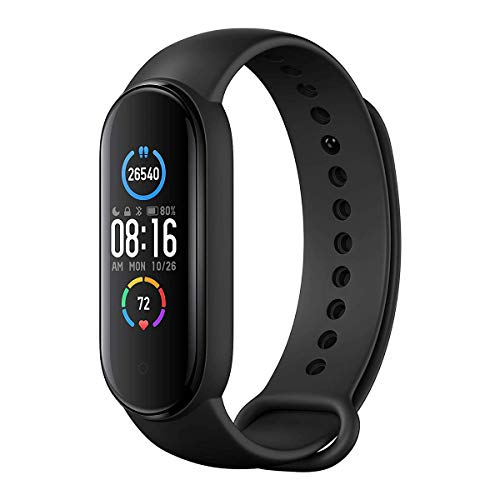 Xiaomi Mi Band 5 Global Version Fitness-Armband, 2,7 cm (1,1 Zoll),...