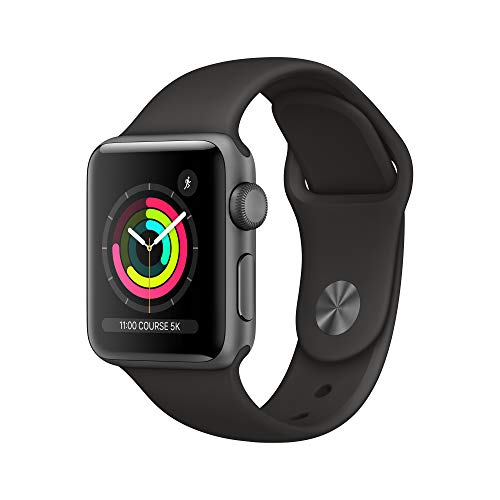 Apple Watch Series 3 (GPS, 38mm) Aluminiumgehäuse Space Grau -...